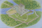 Drawing of Aughnanure Castle_thumb.jpeg